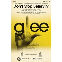 Dont Stop Believin (from TV Series Glee),SATB Parts