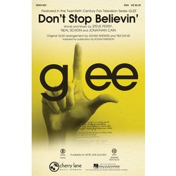 Dont Stop Believin (from TV Series Glee) - SSA Parts
