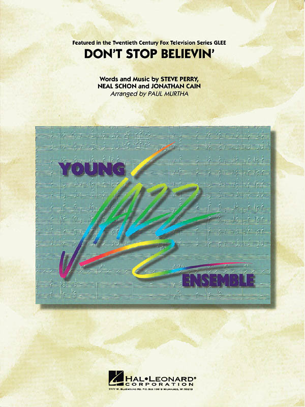 View larger image of Don't Stop Believin (Journey) - Score & Parts, Grade 3