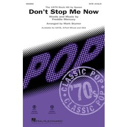 Don't Stop Me Now (Queen) - SATB, Parts