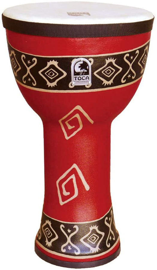 """View larger image of Toca Freestyle Doumbek - 9"""", Bali Red"""