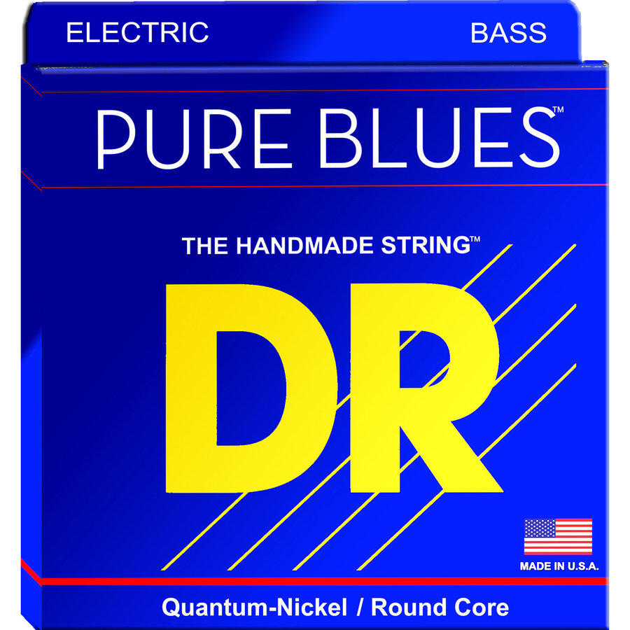 View larger image of DR Pure Blues Victor Wooten Signature Bass Guitar Strings - 40-95