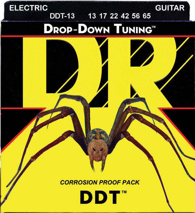 View larger image of DR Strings DDT-13 Drop Down Tuning Electric Strings - 13-65