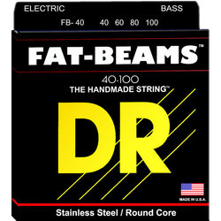 DR Strings FB-40 FAT BEAM Bass Strings - 40-100