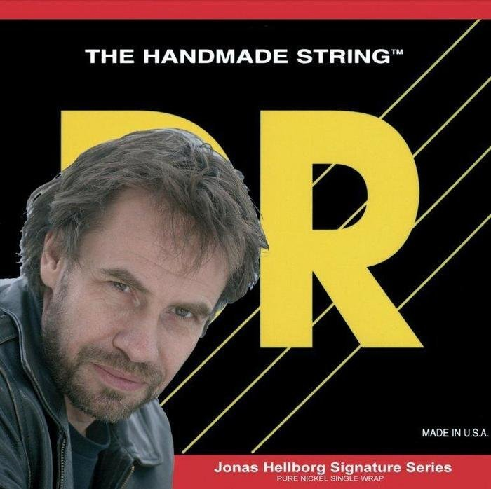 View larger image of DR Strings JH-40 Jonas Hellborg Signature Series Bass Strings - 40-100