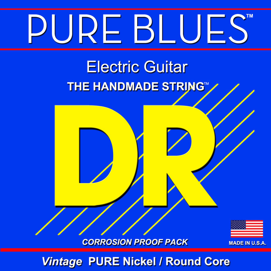 View larger image of DR Strings Pure Blues Electric Guitar Strings - 11-46