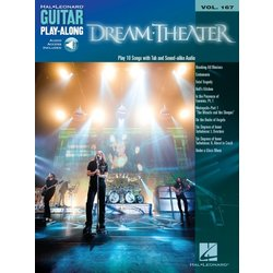 Dream Theater Guitar Play-Along Vol 167 w/Online Audio