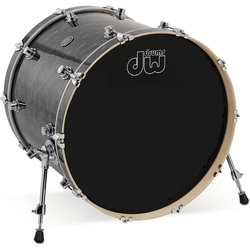 "DW Performance Series Bass Drum - 22""x18"", Black Diamond"