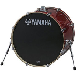 "Yamaha Stage Custom Birch Bass Drum - 20""x17"", Cranberry Red"