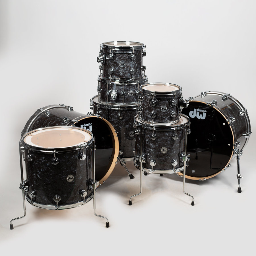 View larger image of DW Collector's Series 8-Piece Shell Pack - Hardware, Black Diamond