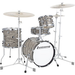Ludwig Breakbeats by Questlove 4-Piece Shell Pack - 16/14SD/13FT/10, Sahara Swirl