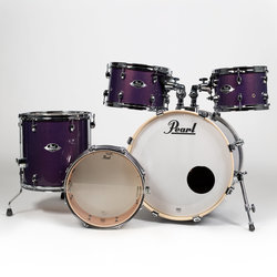 Pearl Export Series 5-Piece Shell Pack - 20/14SD/14FT/12/10, Hardware, Purple Nebula