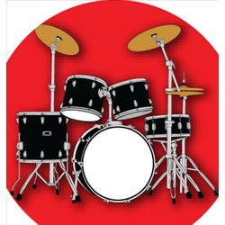 Drum Kit Pin