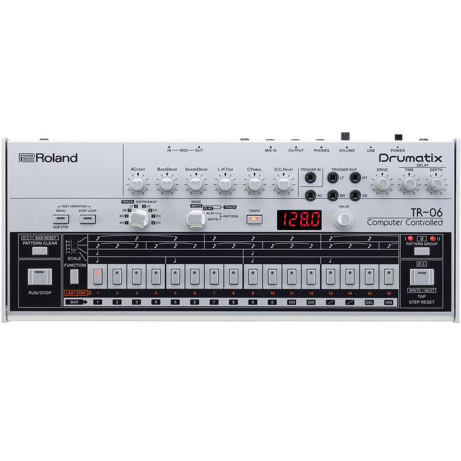 View larger image of Roland TR-06 Drumatix Drum Machine