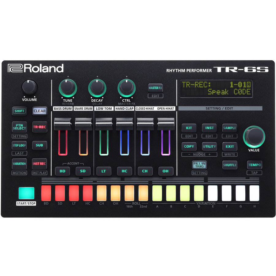 View larger image of Roland TR-6S Rhythm Performer