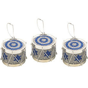 View larger image of Drum Ornaments - 3 Pack
