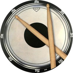 Drum Practice Pad Mouse Pad
