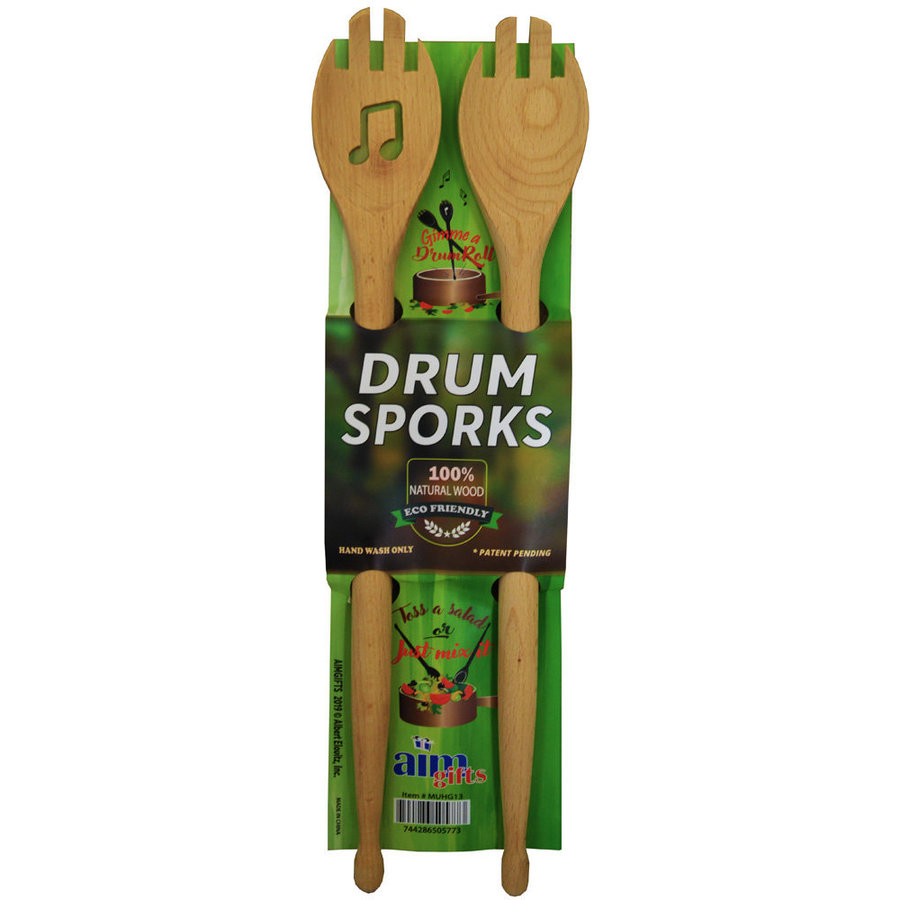 View larger image of Drum Wooden Sporks
