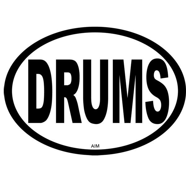View larger image of Drums Oval Magnet