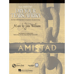 Dry Your Tears Afrika (Amistad) - Score & Parts, Grade 4