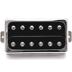 Duesenberg GrandVintage Humbucker Bridge Pickup - Black/Nickel