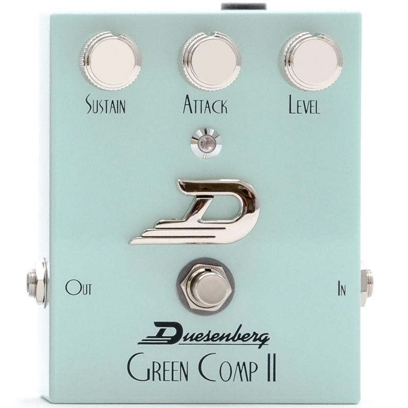 View larger image of Duesenberg Green Comp II Compressor/Sustainer Pedal