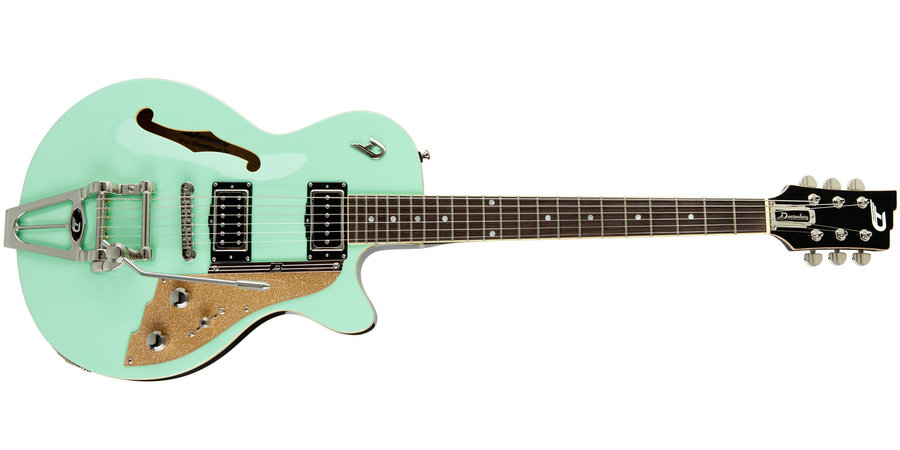 View larger image of Duesenberg Starplayer TV Electric Guitar - Surf Green