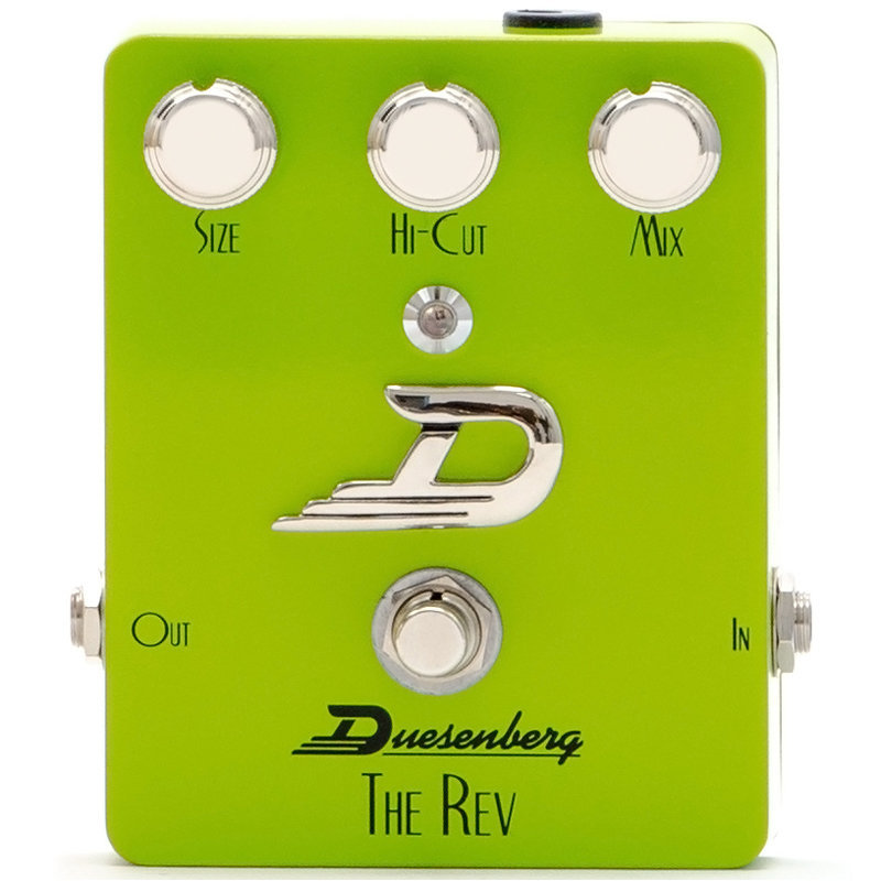 View larger image of Duesenberg The Rev Reverb Pedal