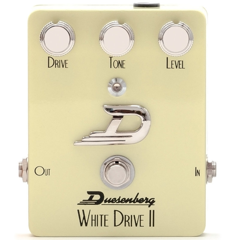 View larger image of Duesenberg White Drive II Overdrive Pedal