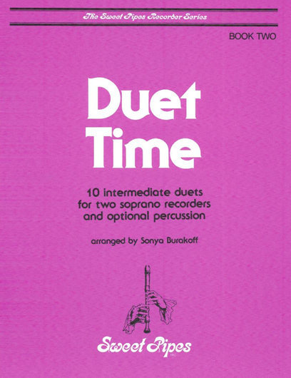View larger image of Duet Time - Book Two (Soprano Recorder Duet)