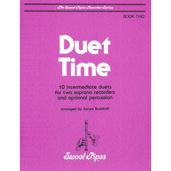 Duet Time - Book Two (Soprano Recorder Duet)