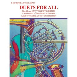 Duets for All - Clarinet