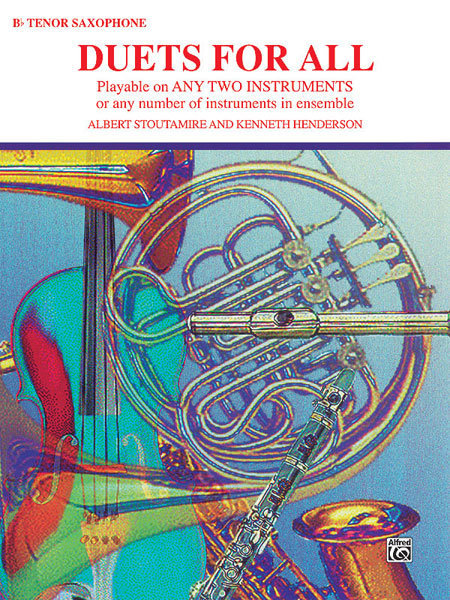 View larger image of Duets for All - Tenor Sax