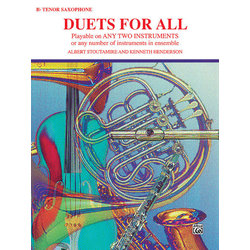 Duets for All - Tenor Sax