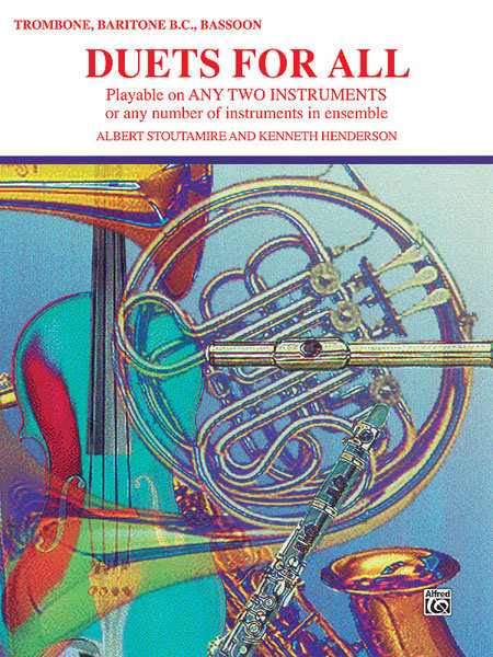 View larger image of Duets for All Trombone/Baritone/Bassoon