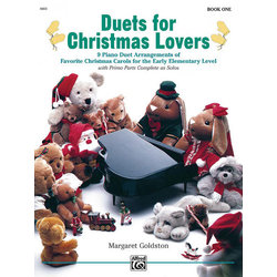 Duets for Christmas Lovers, Book 1 (1P4H)