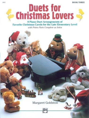 View larger image of Duets for Christmas Lovers, Book 3 (1P4H)