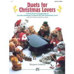 Duets for Christmas Lovers, Book 3 (1P4H)