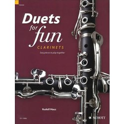 Duets for Fun: Clarinets (Easy Pieces To Play Together)