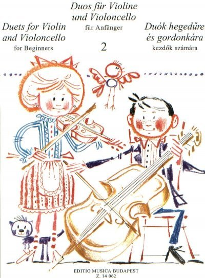 View larger image of Duets for Violin and Violoncello for Beginners – Volume 2