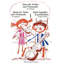 Duets for Violin & Violoncello for Beginners Vol.1