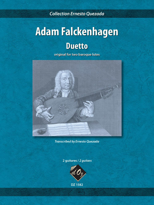 View larger image of Duetto (Falckenhagen) - Guitar Duet
