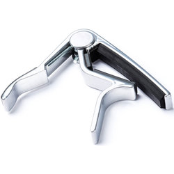 Dunlop Curved Trigger Electric Guitar Capo - Nickel