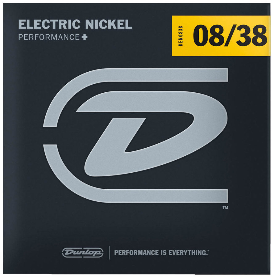 View larger image of Dunlop DEN0838 Nickel Steel Electric Guitar Strings - XL