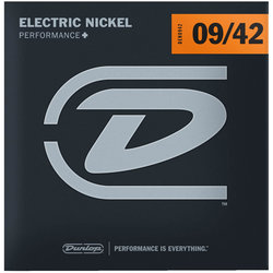 Dunlop DEN1066 Nickel Steel Electric Guitar Strings - L