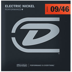 Dunlop DEN1086 Nickel Steel Electric Guitar Strings - 9L/H6
