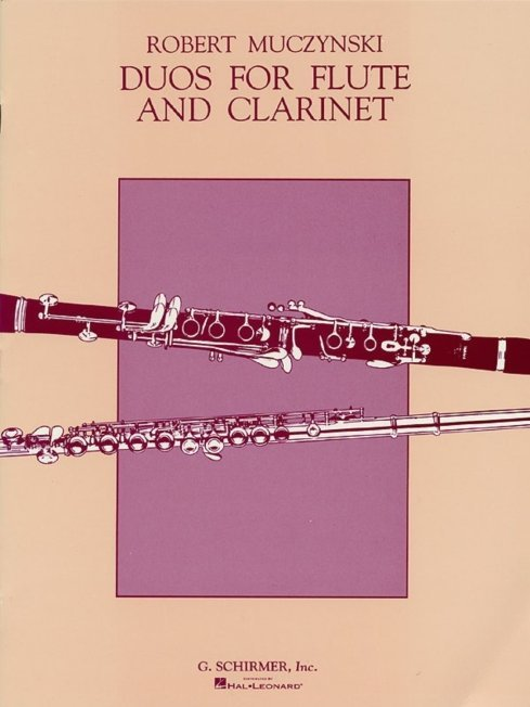 View larger image of Duos For Flute And Clarinet - (Muczynski)