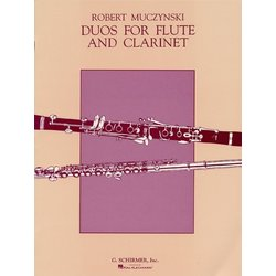 Duos For Flute And Clarinet - (Muczynski)