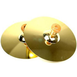 Duplex 3701 Cymbal Pair with Handles - 5
