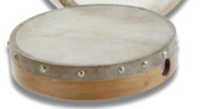 View larger image of Duplex B110 Pre-Tuned Hand Drum - Natural Head - 10